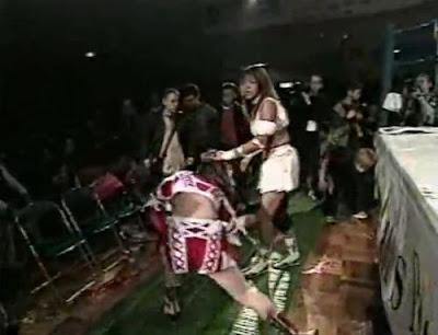 Mima Shimoda - Etsuko Mita - japanese girl wrestling