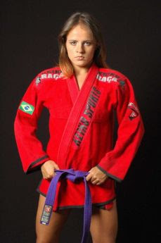 carina damm - female mma fighter - female mixed martial arts