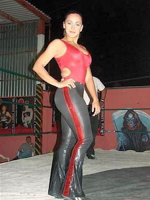 Diana La Cazadora - lucha libre mexicana - lucha libre wrestlers