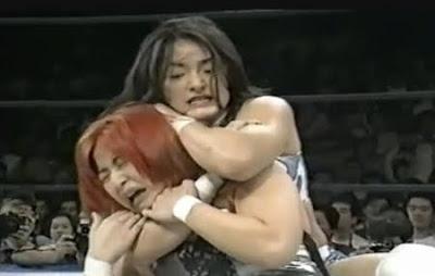 Candy Okutsu - Ayako Hamada - japanese female wrestling - wrestling