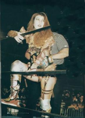 Akira Hokuto - Japanese Female Wrestling
