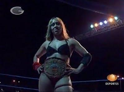 Cinthia Moreno - female wrestling