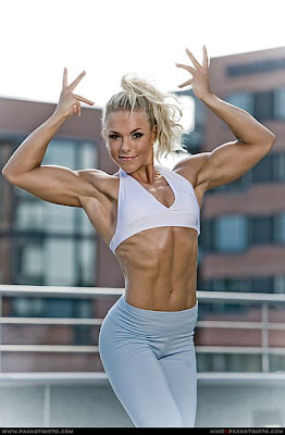 minna pajulahti - women's fitness competition