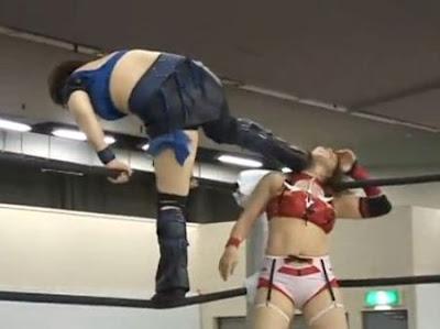 Yoshiko Tamura - Kana -japanese girl wrestling