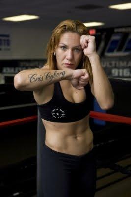 Cristiane Santos - mma fighter - mma