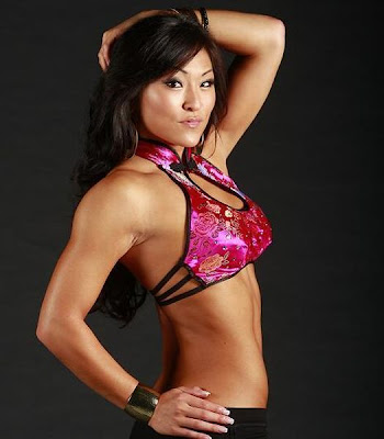 Angela Fong-Savannah-WWE