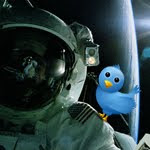 tweet from space