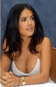 poker babe, charity poker, salma hayek, texas hold'em