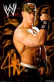 absolute poker babe, john cena, marine, poker addict, wrestler, WSPO, WWE