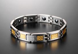 Titanium health hand chain