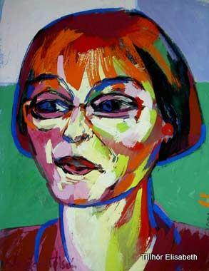 Porträtt av Elisabeth