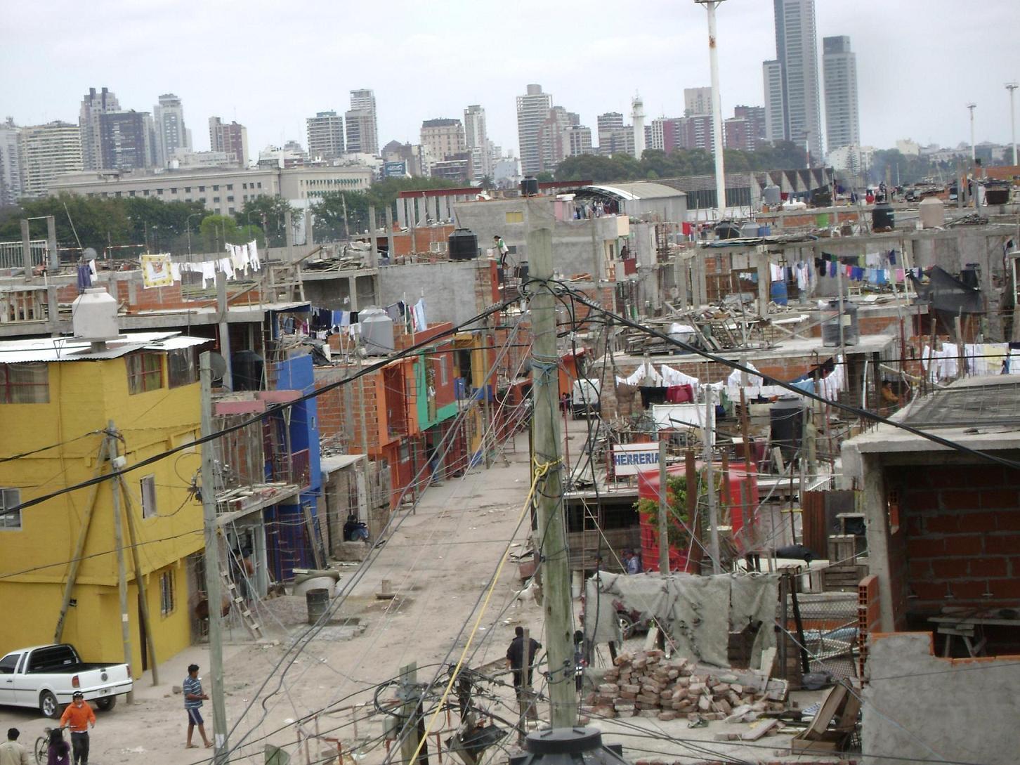 Pensando la bronca villa 31 for Villas en argentina