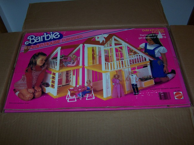 The Boxed Barbie Dreamhouse