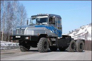 Седельный тягач Урал