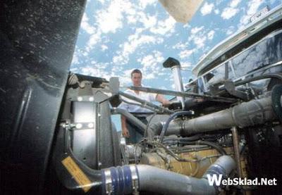 Двигатель тягача Western Star