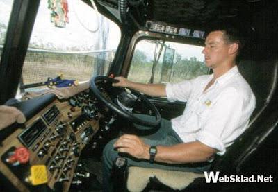 Водитель управляющий автопоездом road train