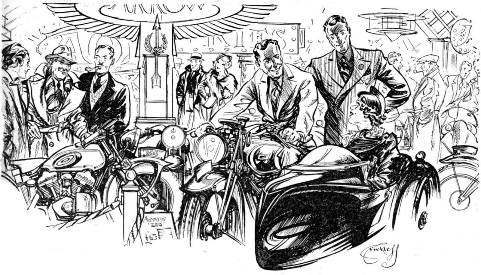 The Velobanjogent April 2010 Cartoon Dirt Bike Engine Diagram