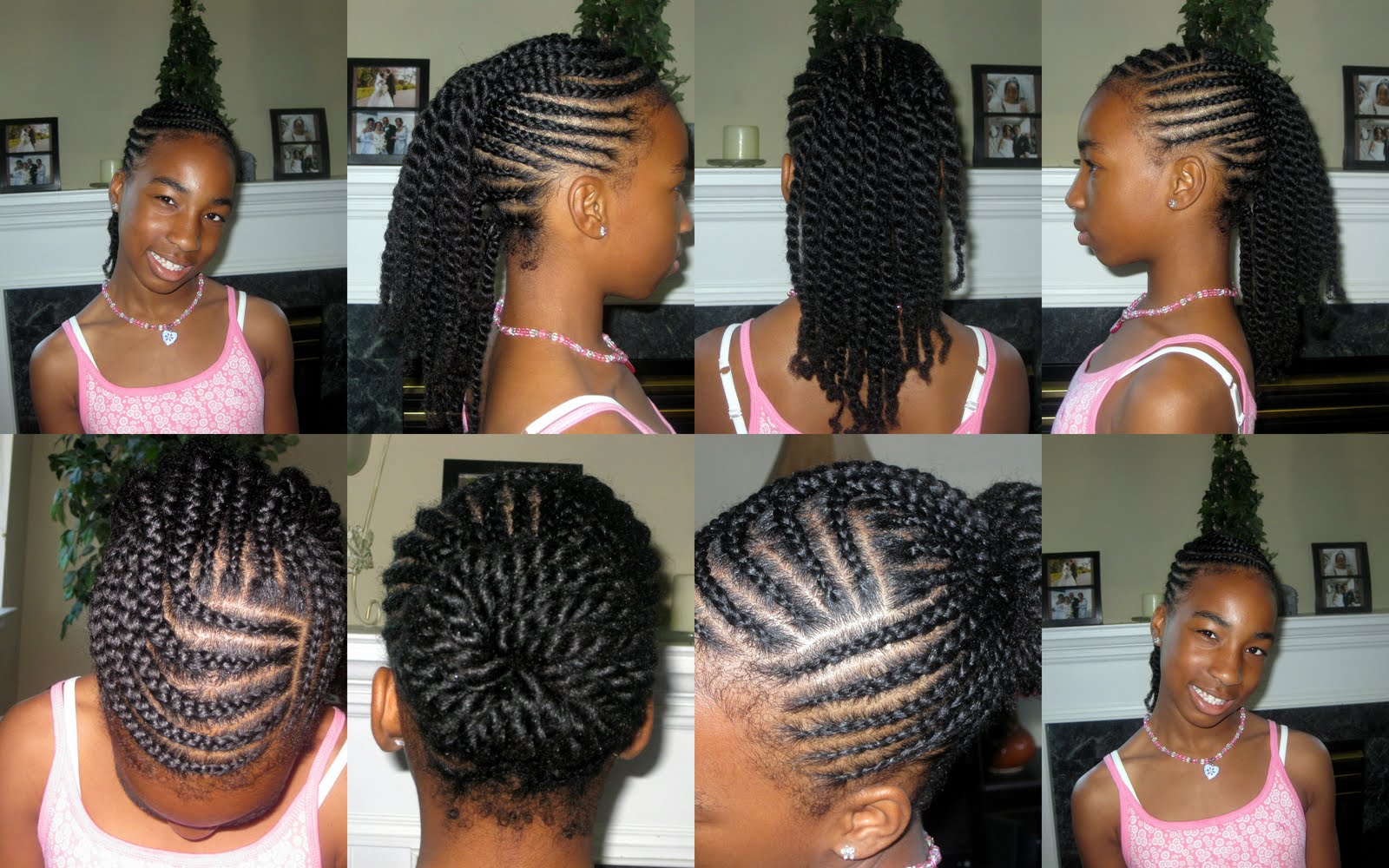 Easy Braided Hairstyles For Little Black Girls | 1080p HD Wallpaper