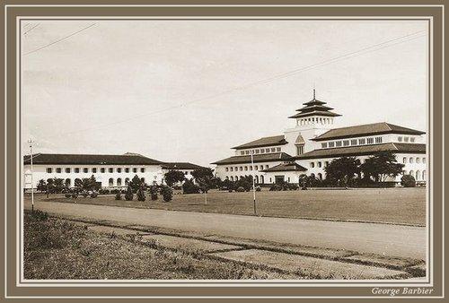 Gedung sate 1927