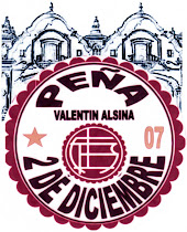 """Peña Granate """"2 de Diciembre"""" de Valentin Alsina"""
