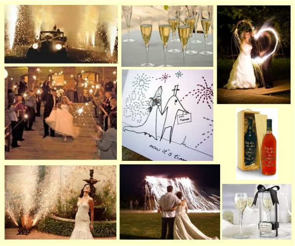 Theme Holiday Wine and Fireworks Event Wedding Engagement