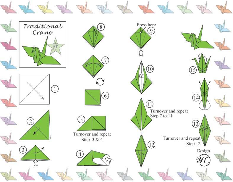 Paper Crane Origami Instructions Pdf 3354730 114searchfo