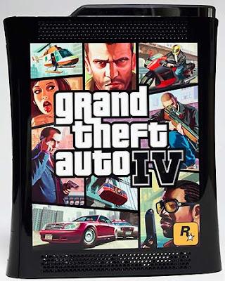Grand theft auto4 Xbox 360 elite