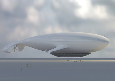 Manned cloud- The Flying hotel image