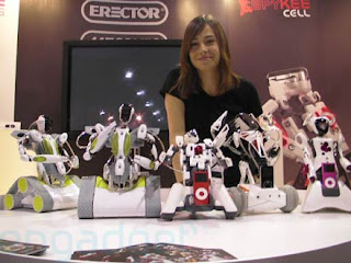 Erector spykee robots image with model