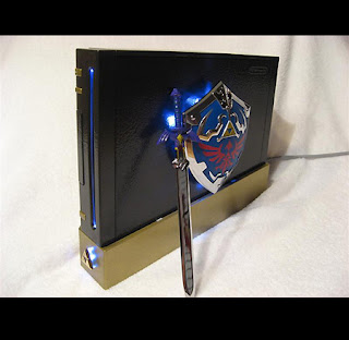 Nintendo Wii case 1 - Zelda