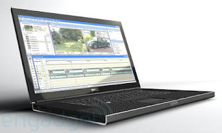 Leaked dell prototype laptop with sexy feel