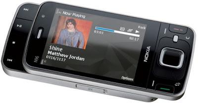 Nokia N96 phone snapshot
