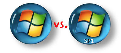 MS XP vs MS Vista SP1