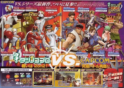 New chracters in tatsunoko vs capcom