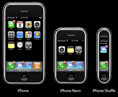 iPhone2.1 beta, nano & shuffle