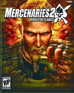 Mercenaries 2 world in flames cover art