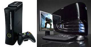 Desktop vs gaming console snapshot