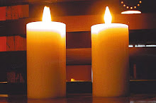 "The ""Mance Candle"" designed by the late Geoffrey Mance, 2005"