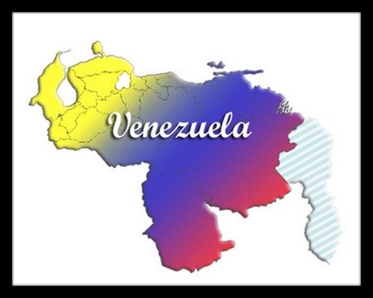 Mapa de venezuela con sus limites - Imagui