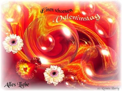 Viele, Liebe Grüße Zum VALENTINSTAG