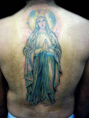 Virgin Mary Tattoos