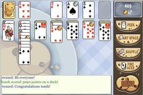 Cookie Bonus Solitaire pour iphone