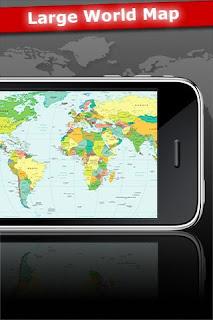« Atlas 2010 » : Voir le Monde sur votre iPhone