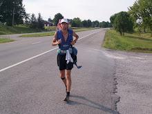Running across Kentucky