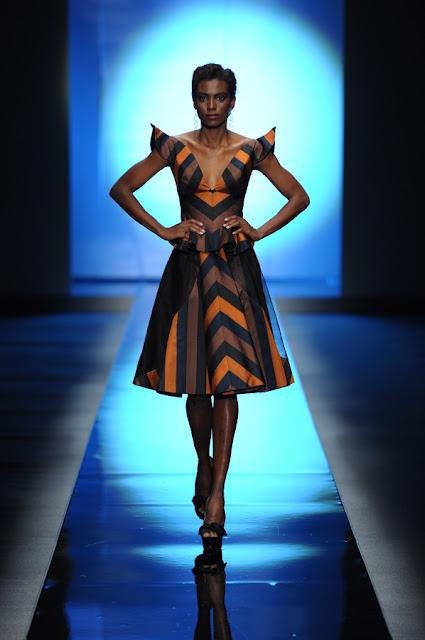 Deola Sagoe at Africa Fashion Week 2010