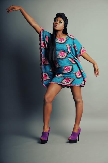 n'kya designs, african print dress flared, africa