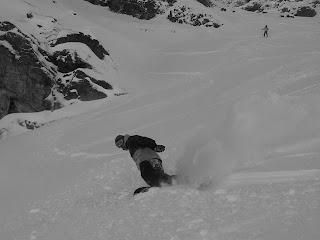 Nick Moffatt Snowboarding