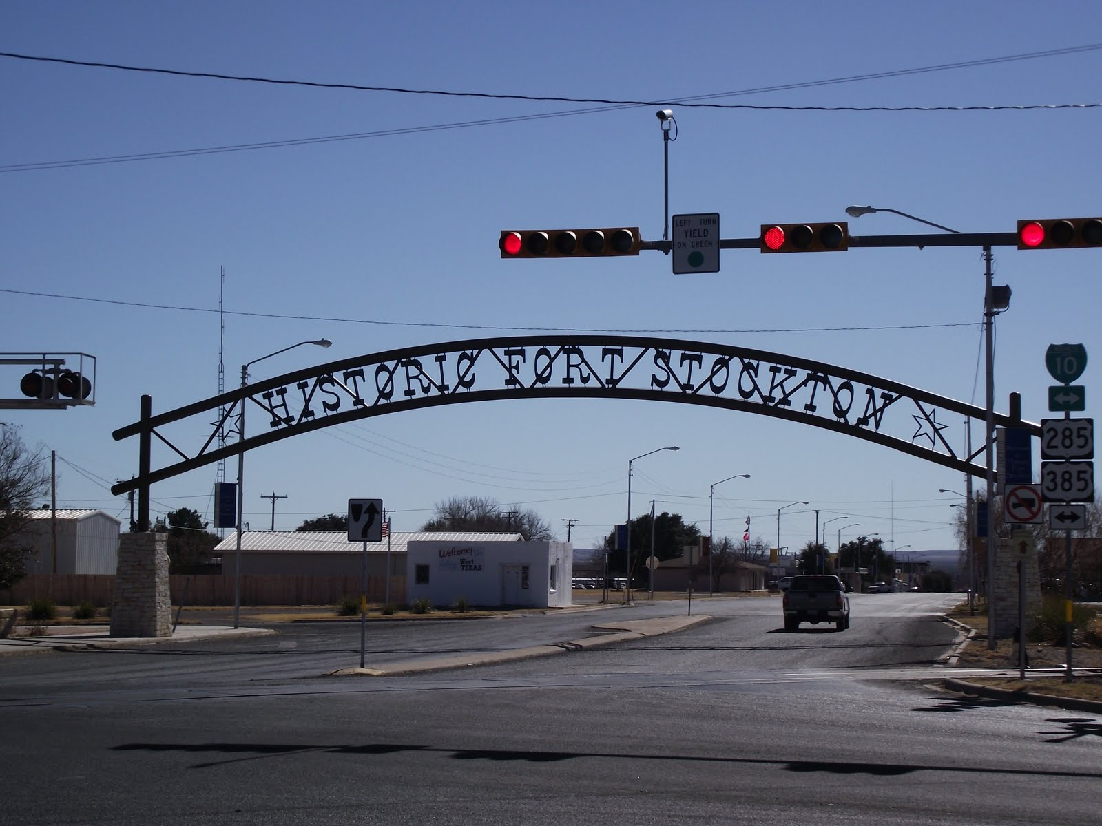 fort stockton Fort stockton is a city in the trans-pecos region of texas get in  i-10 east of van horn and west of ozona us 385 north of marathon and south of odessa.