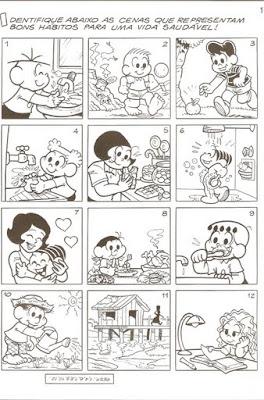 Digitalizar0014 Alimentação com a Turma da Mônica para crianças