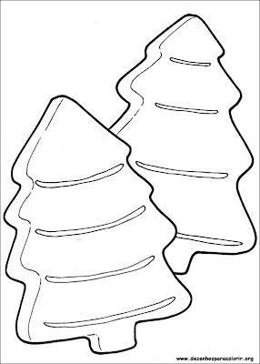 natal 153 Para colorir Natal para crianças